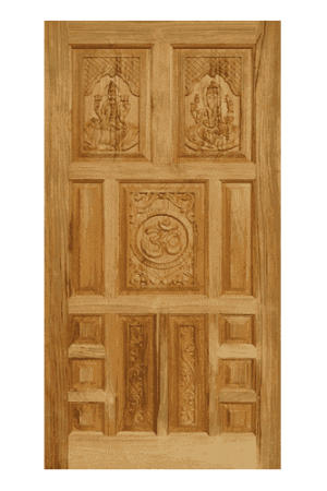 Teak Wood Carving Design Door